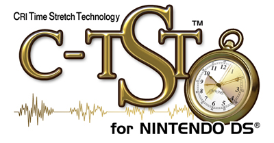 CRI Time Stretch Technology (C-TST) for NINTENDO DS